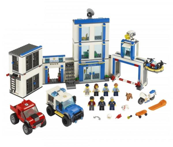 Lego City Կառուցողական Խաղ «Ոստիկանական բաժանմունք»
