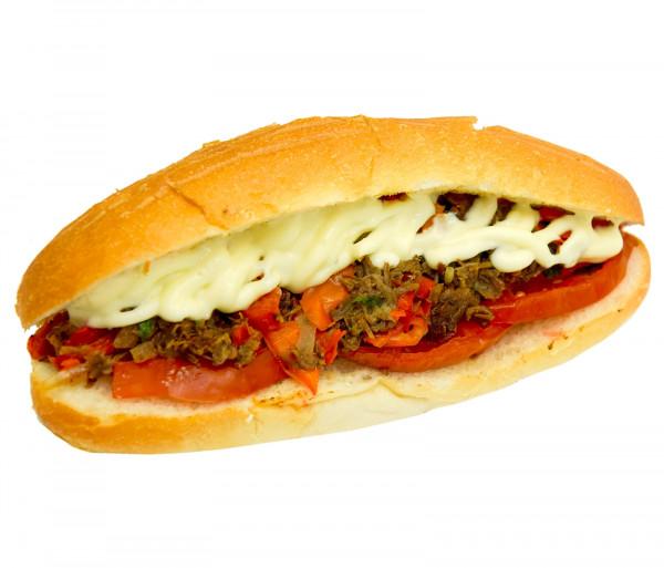 Տավարի մսով սենդվիչ «Չիլի» Տանթունի