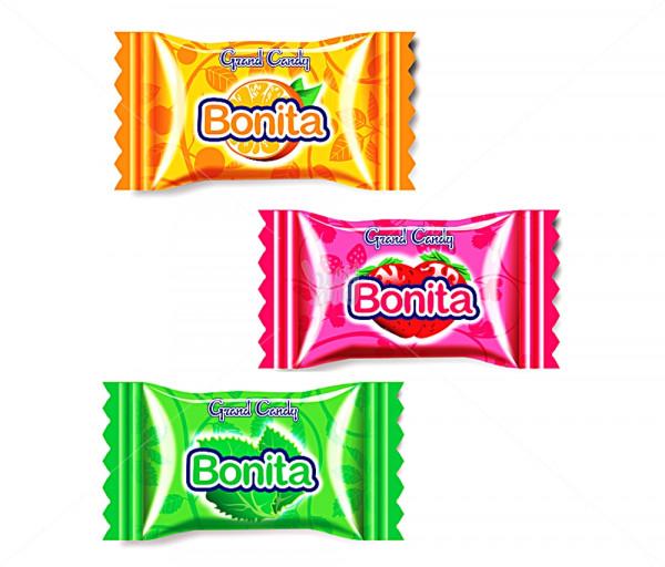 Կարամել «Բոնիտա» (նարինջ, ելակ, անանուխ) Grand Candy
