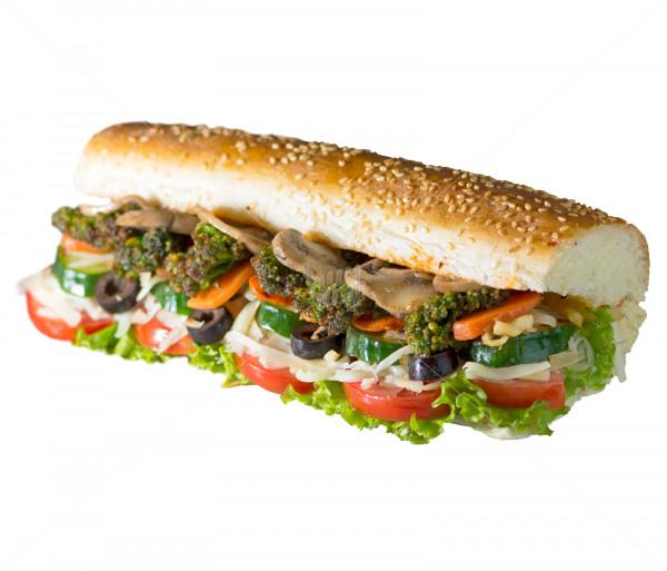 Տապակած բանջարեղենով սենդվիչ (փոքր) Subtitle