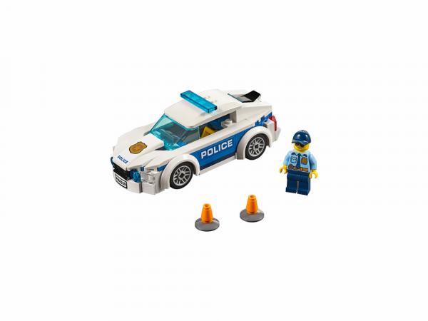 Lego City Կառուցողական Խաղ ''Պարեկային Ոստիկանության Մեքենա''