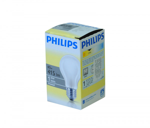 Ֆիլիպս Լամպ Ստանդարտ 40w E27 230v A55 Fr