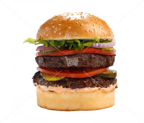 Բուրգեր «Beef - Classic Double» (մեծ) Black Angus