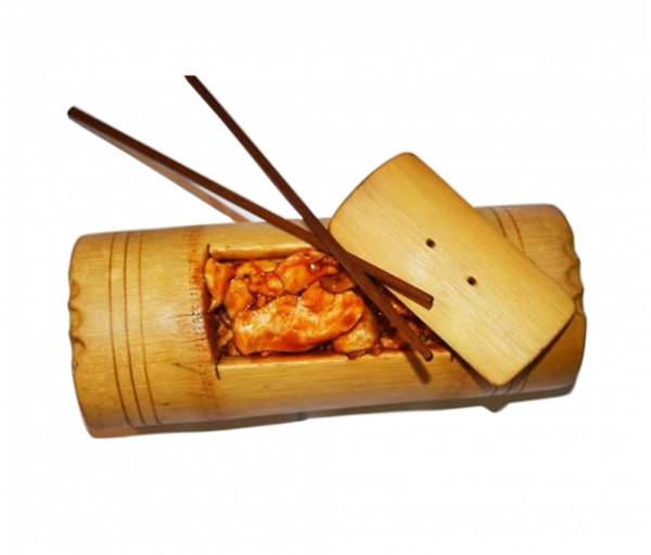 Հավ շամպինյոնով բամբուկի մեջ Սուշի Կուշի