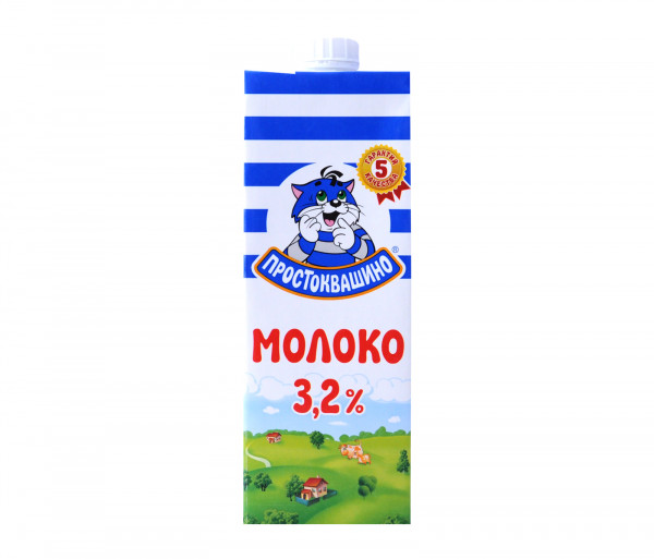 Պրոստոկվաշինո Ուլտրապաստերացված կաթ 3.2% 950մլ