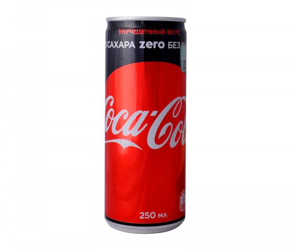 Կոկա Կոլա Առանց Շաքար 250մլ