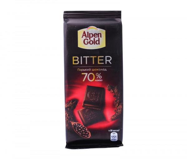 Ալպեն Գոլդ Դառը շոկոլադ 70% Կակաո 85գ