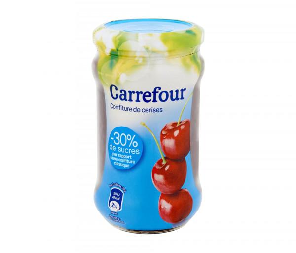 Carrefour Jam Cherry Light 340g