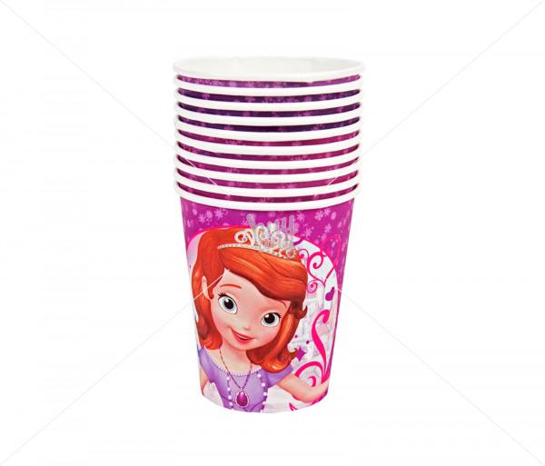 Բաժակներ «Princess Sofia» (10 հատ) Partytto