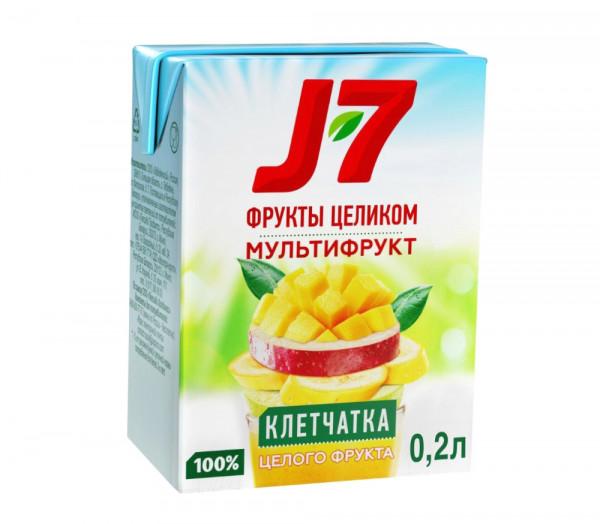 Բնական հյութ «J7» (մուլտի) 0.2լ