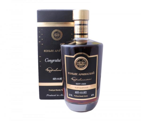 Proshyan Congratulatory Cognac 15Y 0.75l