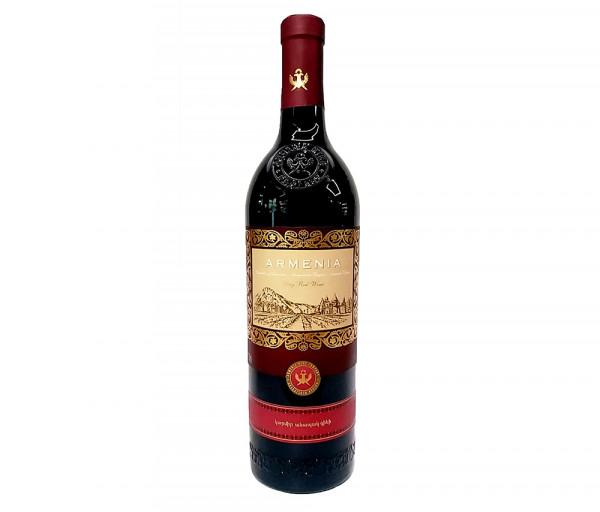 Գինի «Armenia» կարմիր, անապակ 0.75լ