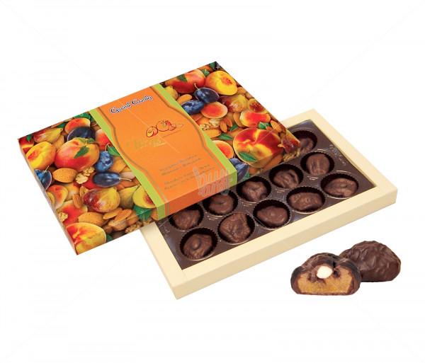 Կոնֆետների ընտրանի «Շոկոլադապատ դեղձի չիր» Grand Candy