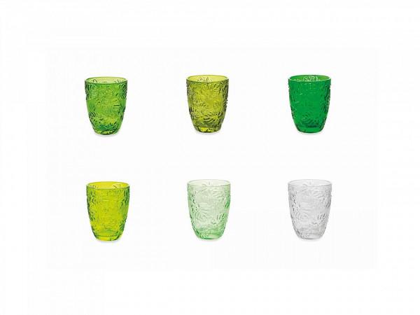 Բաժակների հավաքածու Jungle Bicchieri Acqua 6 հատ
