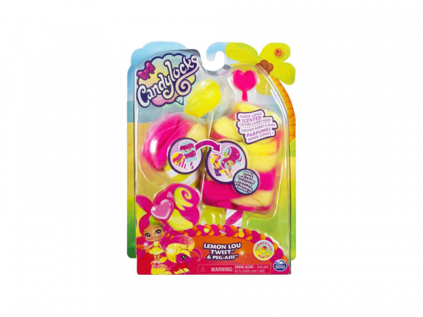 Spin Master Տիկնիկներ և Աքսեսուարներ Candylocks «Lemon Lou Twist & Peg-Asis»