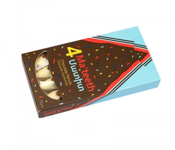 Շոկոլադե կոնֆետներ «Չորս մատիտ» Gourmet Dourme