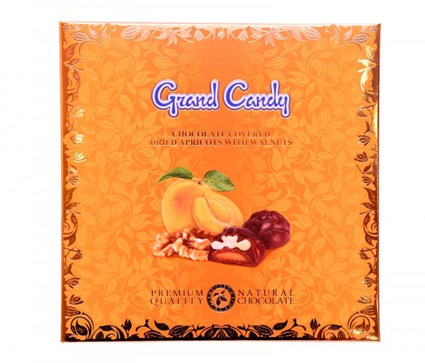 Շոկոլադապատ ծիրանաչիր ընկույզով 150գ Grand Candy GC-145