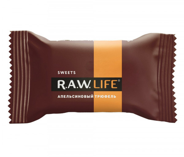 R.A.W. Life Orange truffle 18g