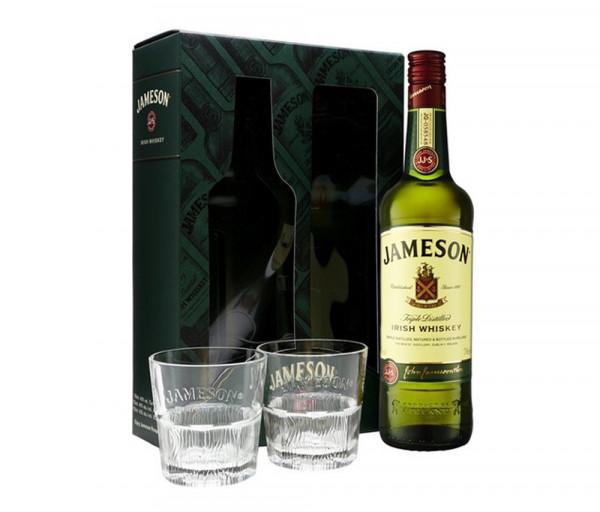 Վիսկի «Jameson» 0.7լ + 2 բաժակ