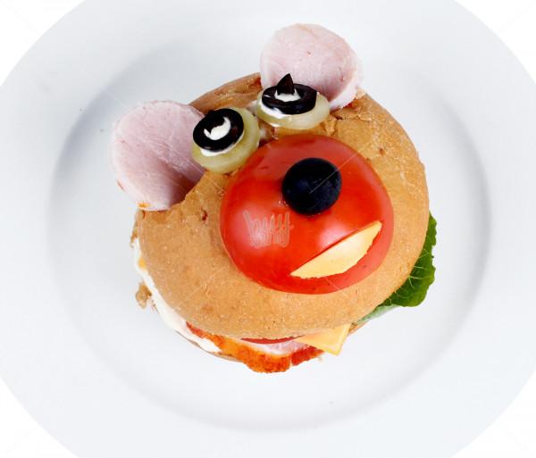 Սենդվիչ մանկական «Արջուկ» Queen Burger