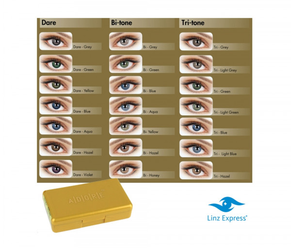 Colored contact lenses (1 pc) «Adore Dare» Eyemed