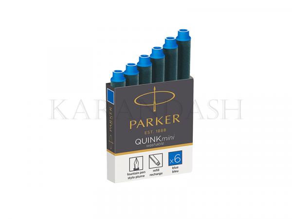 Քարթրիջ գրիչ փետուրի ,կապույտ Parker Quink Mini 1950409