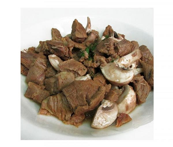 Գառան միս սնկով և ռոզմարինով Լա Քուչինա