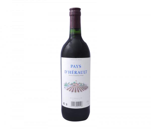 Քարֆուր Կարմիր գինի Փեյս Դեռոլտ Ռուժ 0.75լ