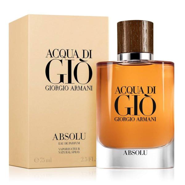 Տղամարդու օծանելիք Giorgio Armani Acqua di Gio Absolu Eau De Parfum 75 մլ
