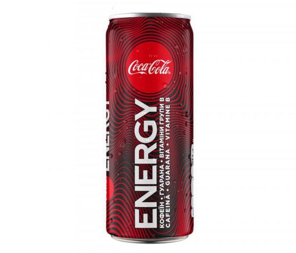 Զովացուցիչ ըմպելիք «Coca-Cola Energy» 0.33լ