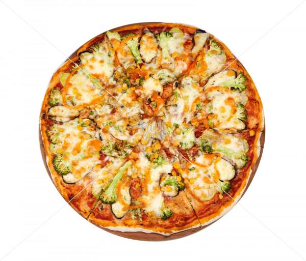Պիցցա բանջարեղենային (1 կտոր) Պիցցա Ֆրեսկո