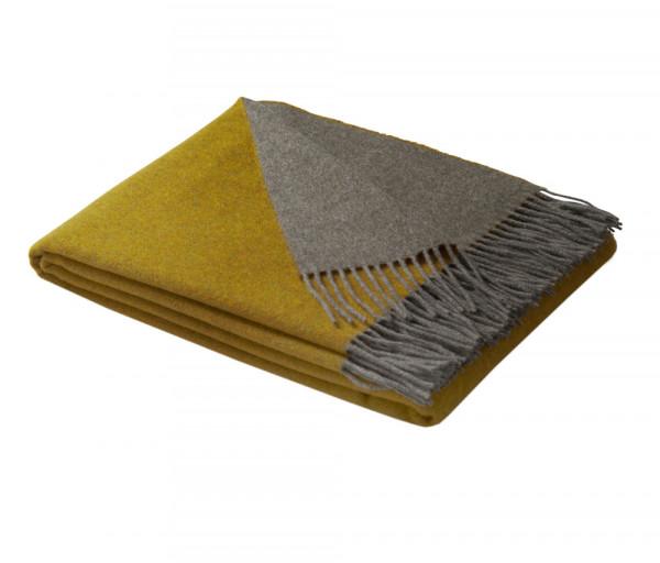 Պլեդ Biederlack, 130x170սմ, օխրա-մոխրագույն