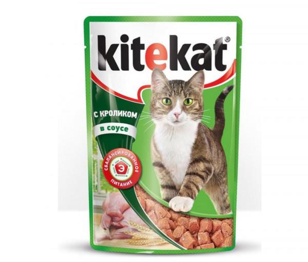 Kitekat Cat Food Pouch Rabbit 85g