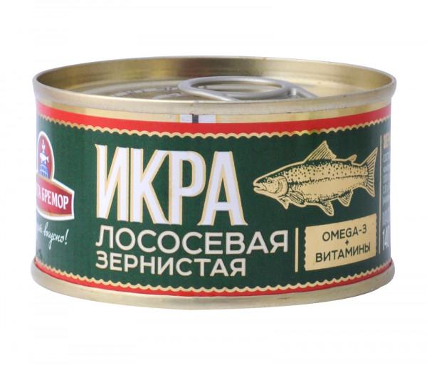 Santa Bremor Granular Salmon Caviar 140g