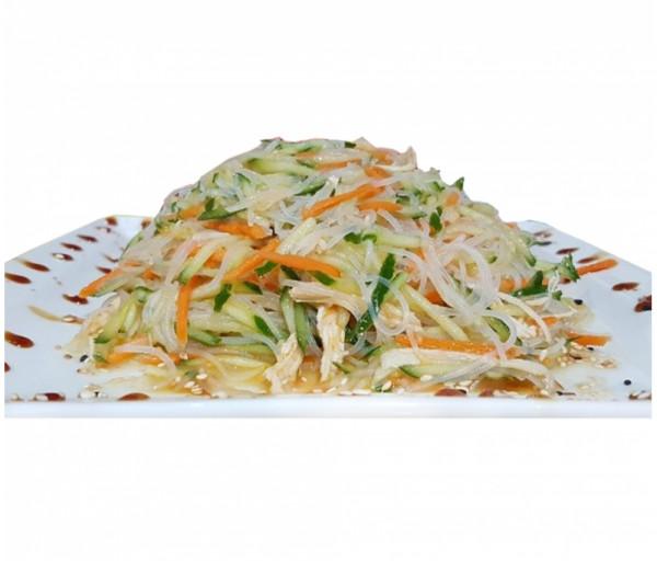 Հավի միս չինական Ֆն-Սե մակարոնով Սուշի Կուշի