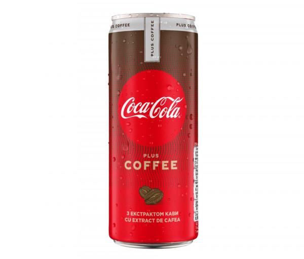 Զովացուցիչ ըմպելիք «Coca-Cola Coffee» 0.33լ