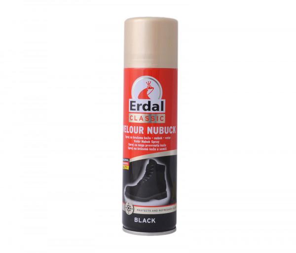 Erdal Spray Nubuck & Velour Care Black 250ml