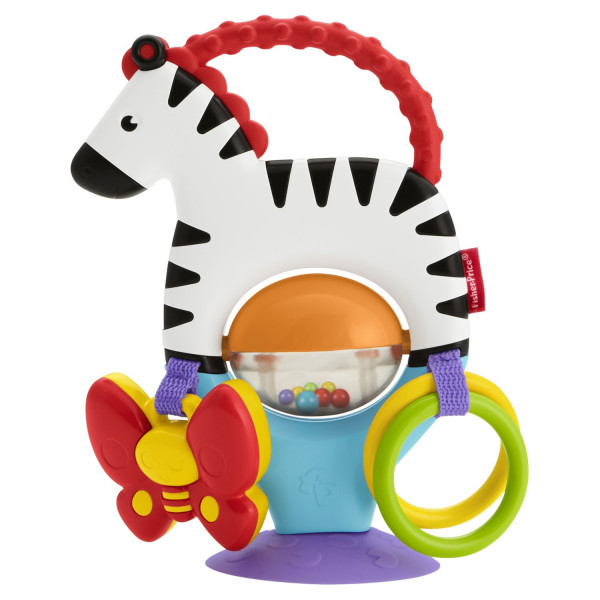Սեղանին ամրացվող խաղալիք «Գունավոր զեբր»