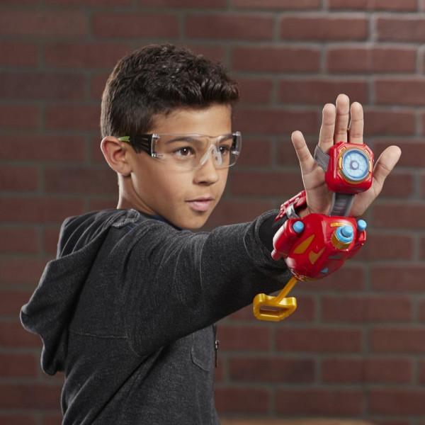 Hasbro Ատրճանակ՝ Փամփուշտով Nerf Power Moves «Վրիժառուներ․ Երկաթե մարդ»