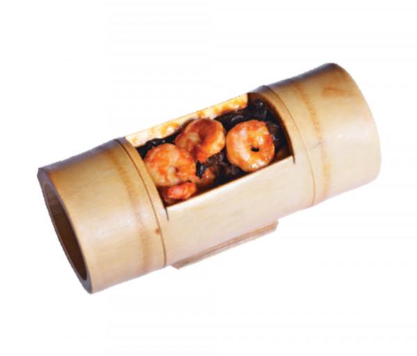 Վագրե մանրածովախեցգետին շամպինյոնով բամբուկի մեջ Պեկին Ռեստորան