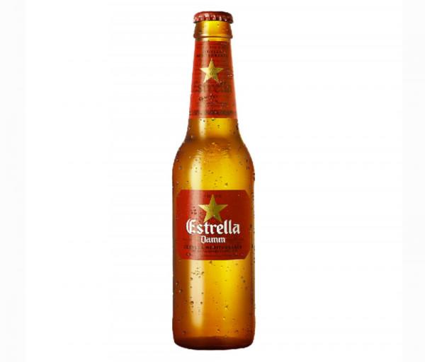 Գարեջուր «Estrella» 0.33լ