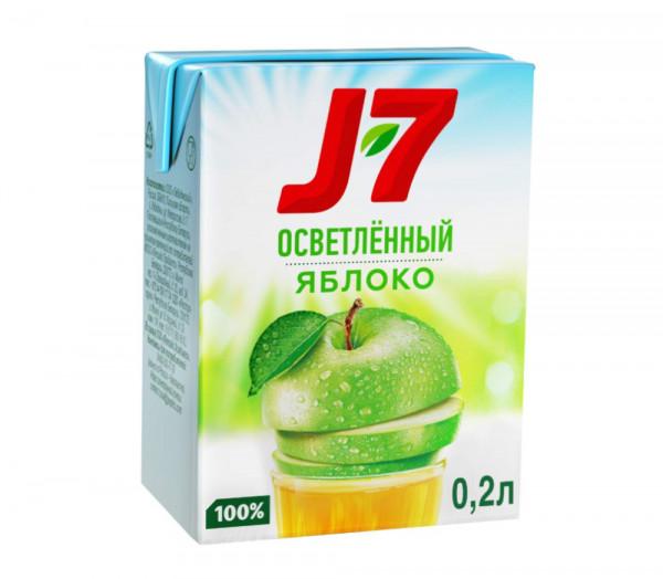 Բնական հյութ «J7» (խնձոր) 0.2լ