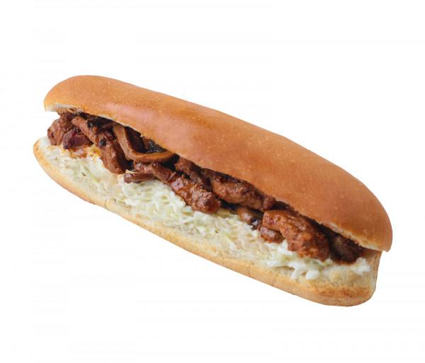 Ռեալ սթեյք պանրով Լիբանանյան շաուրմա