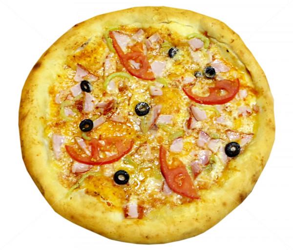 Պիցցա (խոզապուխտով) Դոկա Պիցցա