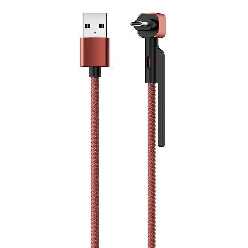 Մալուխ Stand USB 2.0 - microUSB 1.2մ