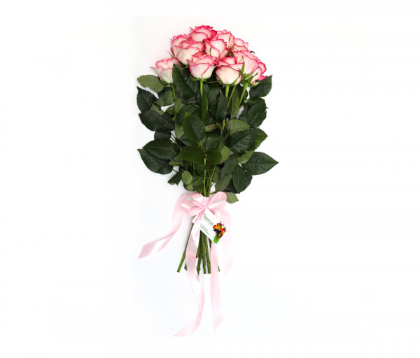 Bouquet of 11 pink roses Anahit