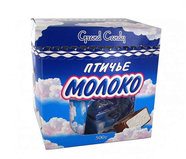 Կոնֆետների ընտրանի «Թռչնի կաթ» 500գ Grand Candy