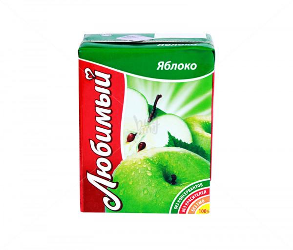 Բնական հյութ «Любимый» (խնձոր) 0.2լ