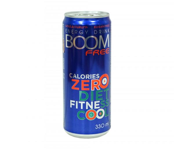 Բում Ֆրի Էներգետիկ ըմպելիք 330մլ
