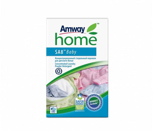 Կոնցենտրացված լվացքի փոշի «SA8 Baby» (մանկական) 3կգ Amway
